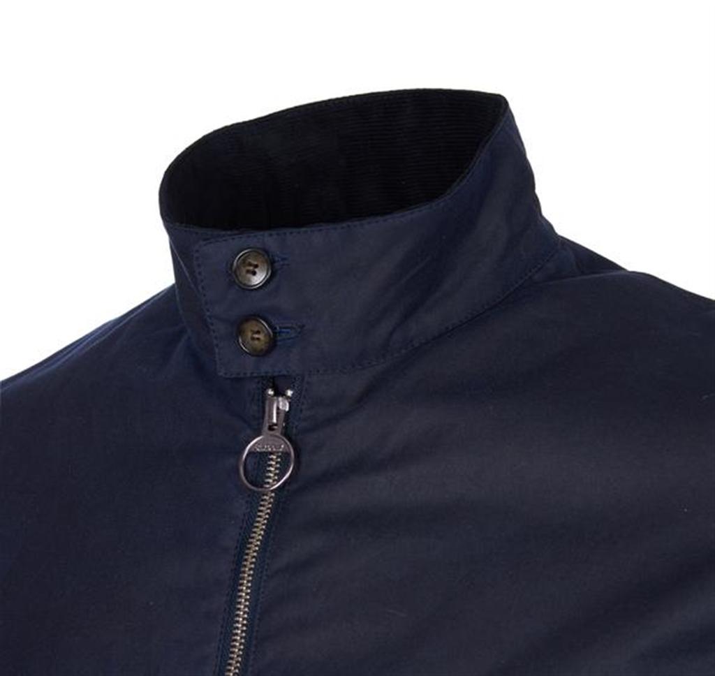 Barbour - Giubbotti - giacca weldon wax blu navy 2