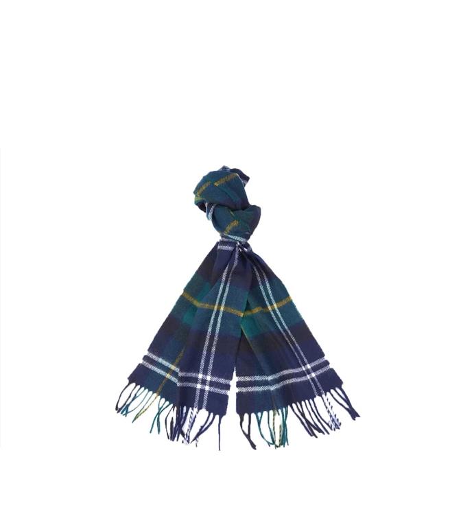 Barbour - Sciarpa - sciarpa lustleigh check verde-blu