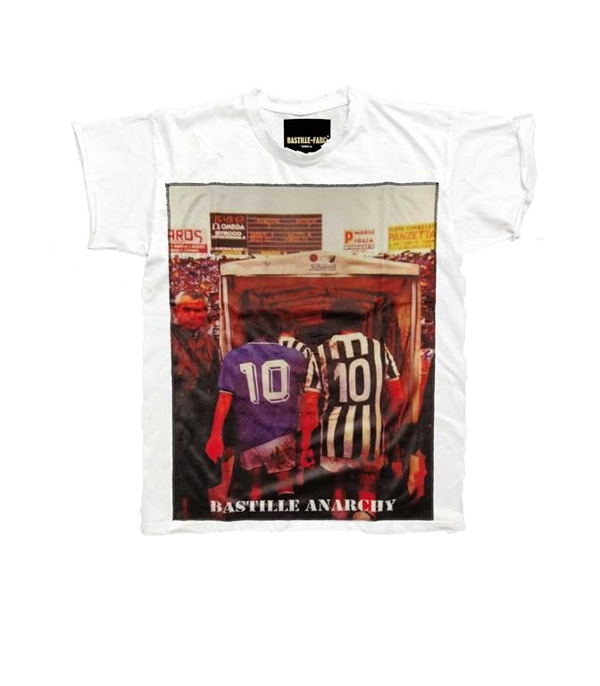 Bastille - T-Shirt - T-SHIRT ICON 10E10 BIANCA