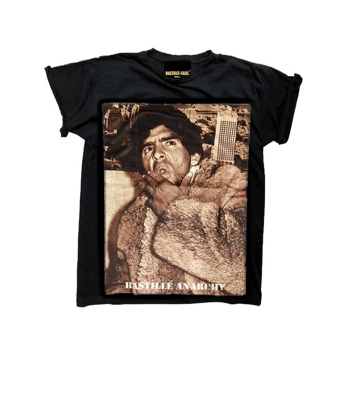 Bastille - T-Shirt - T-SHIRT ICON FUR10 NERA