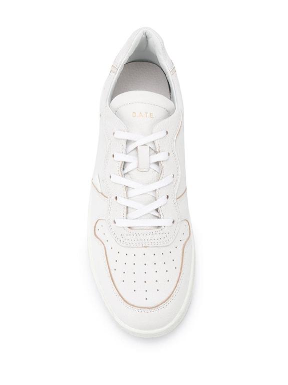 D.A.T.E. - Scarpe - Sneakers - court mono bianca 1