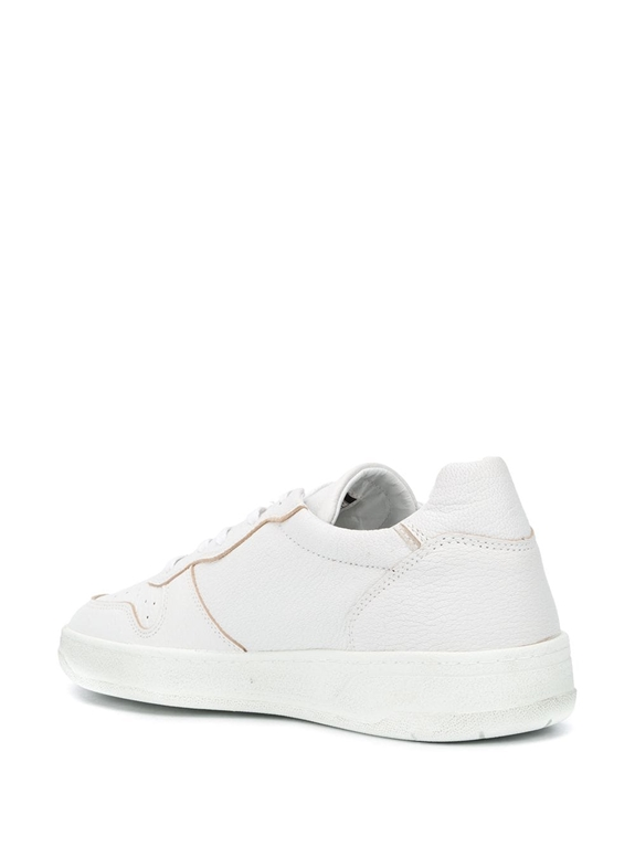 D.A.T.E. - Scarpe - Sneakers - court mono bianca 2