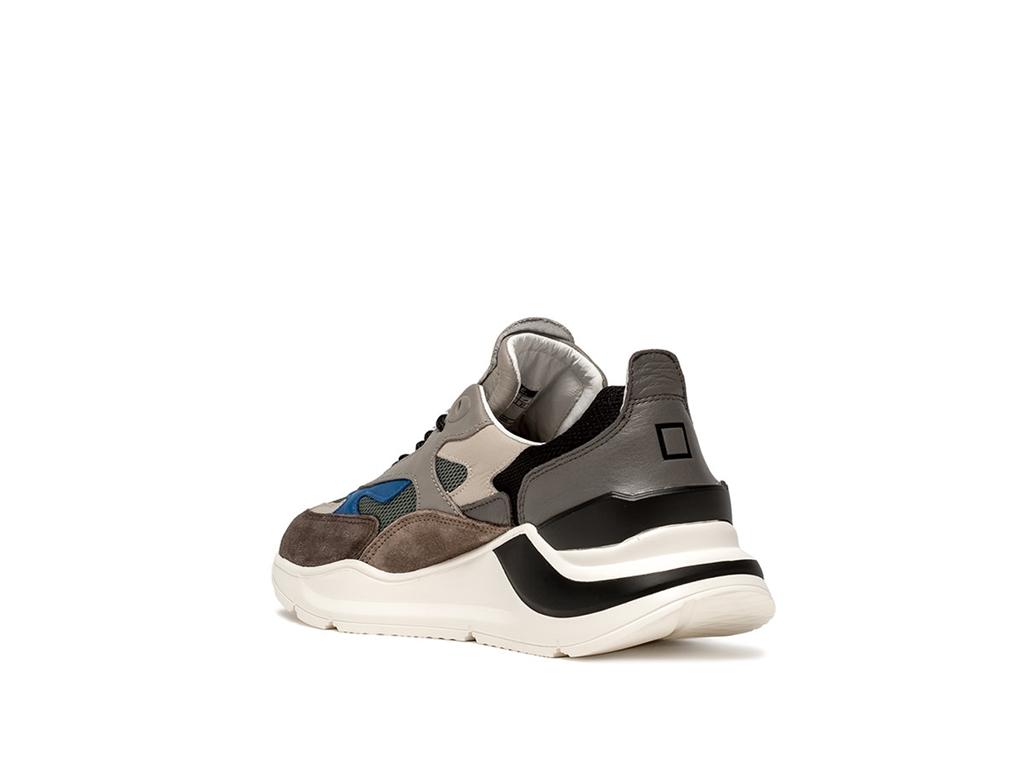 D.A.T.E. - Scarpe - Sneakers - fuga mesh verde militare 2