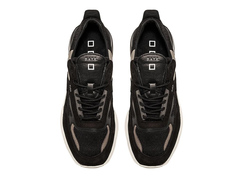 D.A.T.E. - Scarpe - Sneakers - fuga mesh nera 1