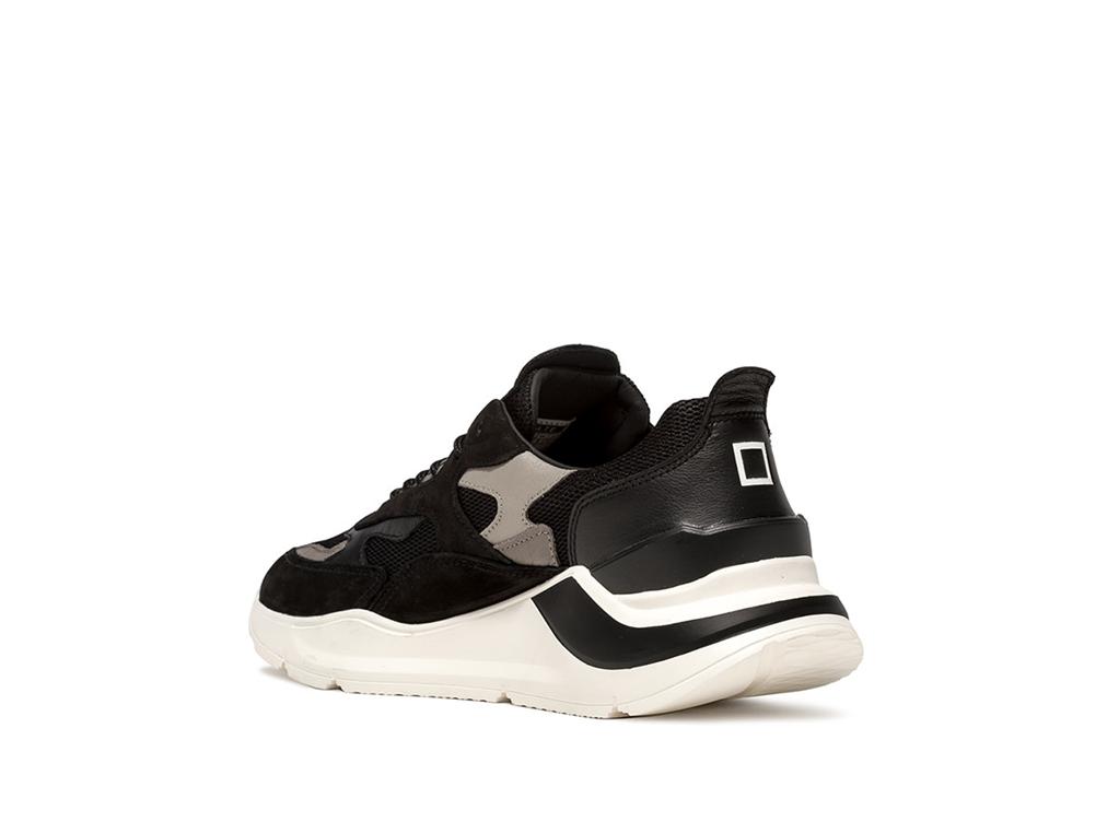 D.A.T.E. - Scarpe - Sneakers - fuga mesh nera 2
