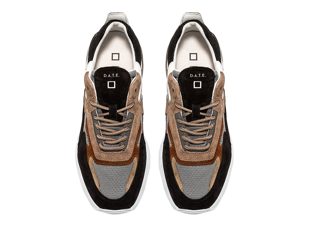 D.A.T.E. - Scarpe - Sneakers - fuga mesh mud 1