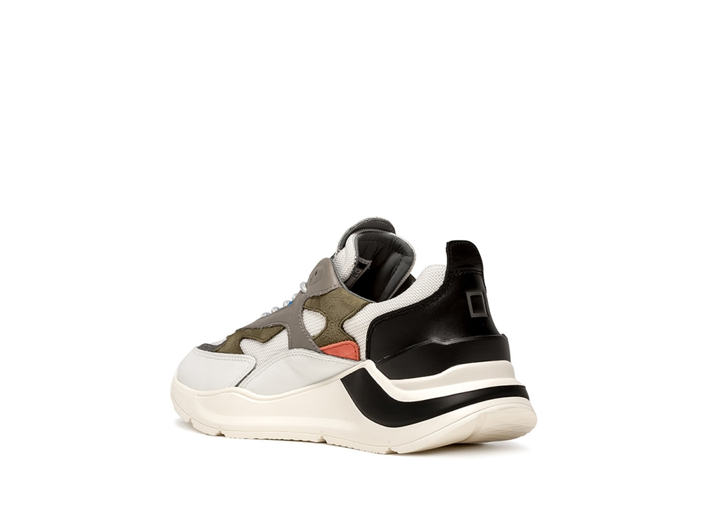 D.A.T.E. - Scarpe - Sneakers - fuga rush bianca-blu 2