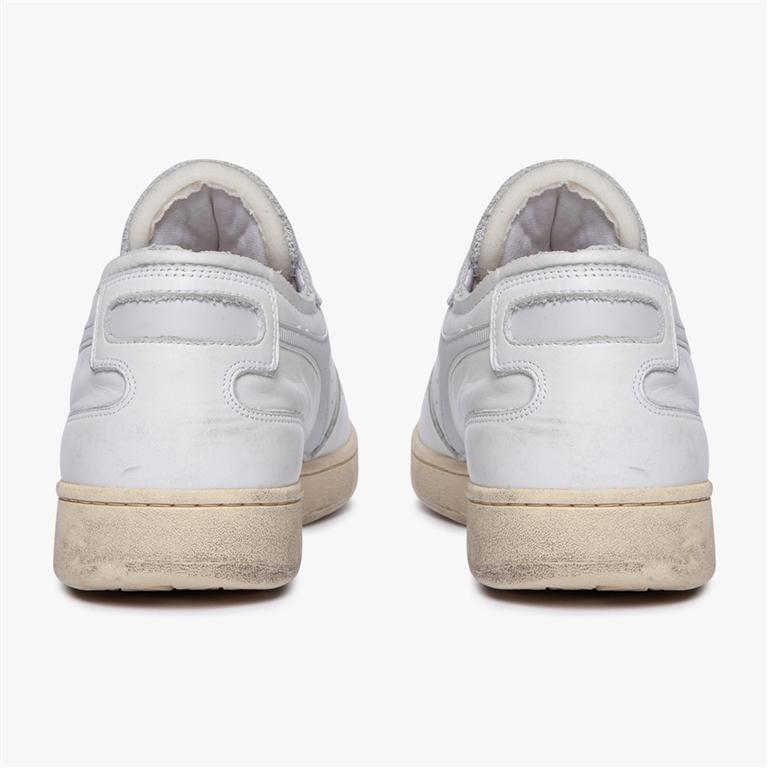 Diadora Heritage - Scarpe - Sneakers - mi basket row cut bianca 2