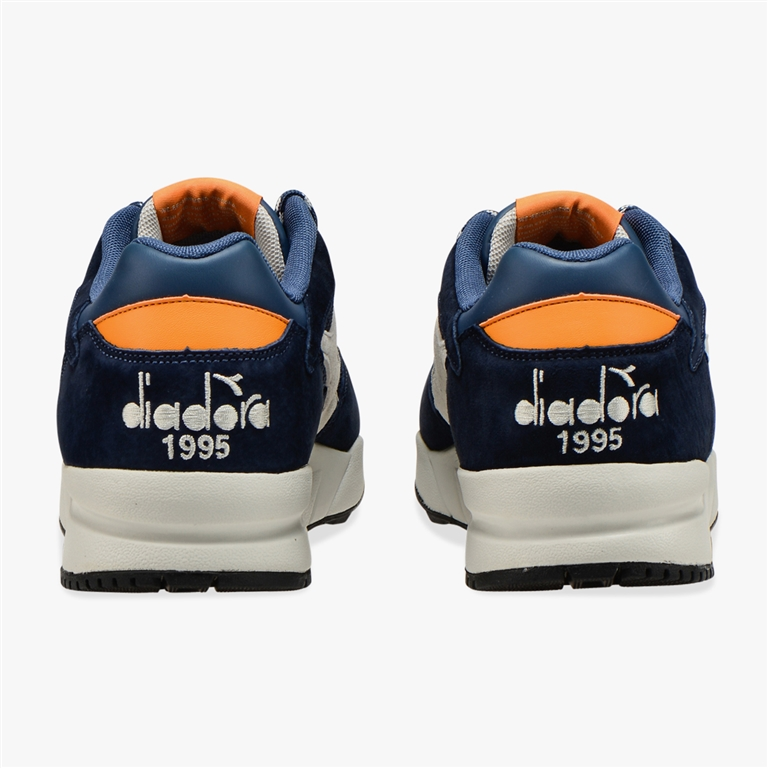 Diadora Heritage - Scarpe - Sneakers - eclipse premium blu-arancio 2