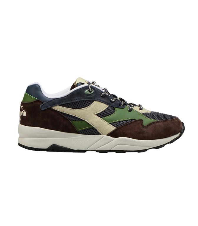 Diadora Heritage - Scarpe - Sneakers - ECLIPSE PREMIUM BLU-MARRONE