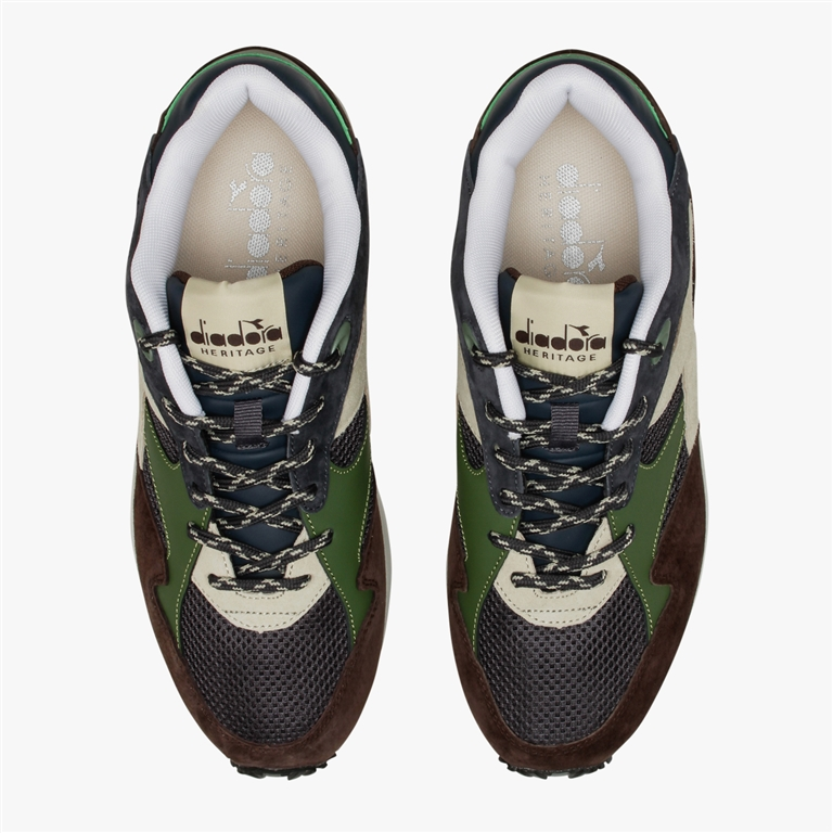 Diadora Heritage - Scarpe - Sneakers - eclipse premium blu-marrone 1
