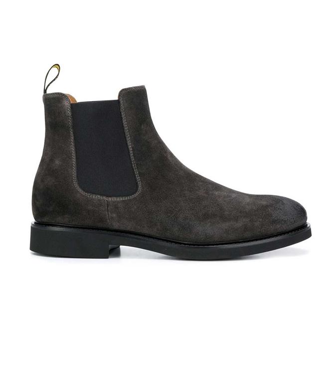 Doucal's - Scarpe - Sneakers - stivali chelsea nera-lavagna
