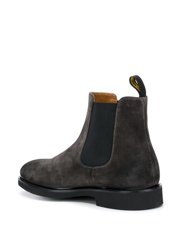 Doucal's - Scarpe - Sneakers - stivali chelsea nera-lavagna 2