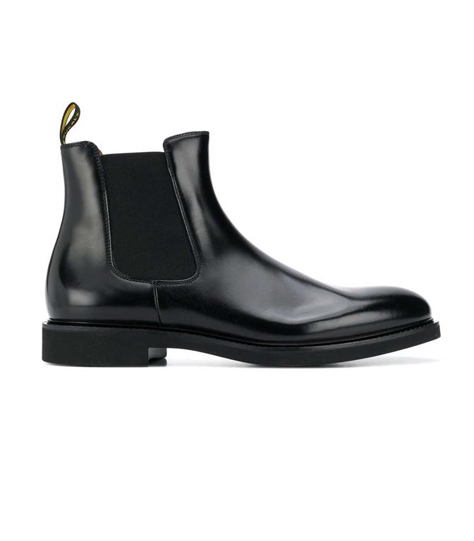 Doucal's - Scarpe - Sneakers - stivali chelsea nera