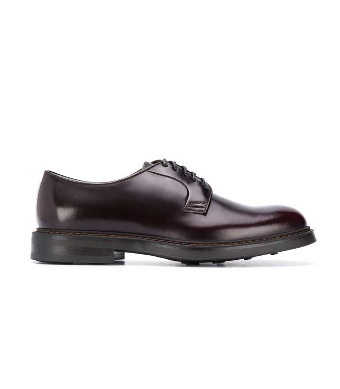 Doucal's - Scarpe - Sneakers - stringata a punta tonda burgundy