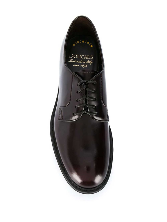 Doucal's - Scarpe - Sneakers - stringata a punta tonda burgundy 1