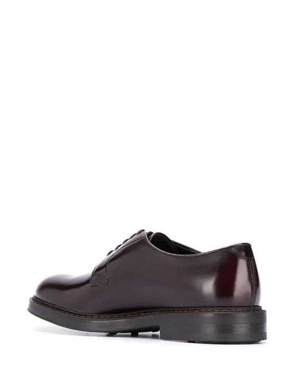 Doucal's - Scarpe - Sneakers - stringata a punta tonda burgundy 2
