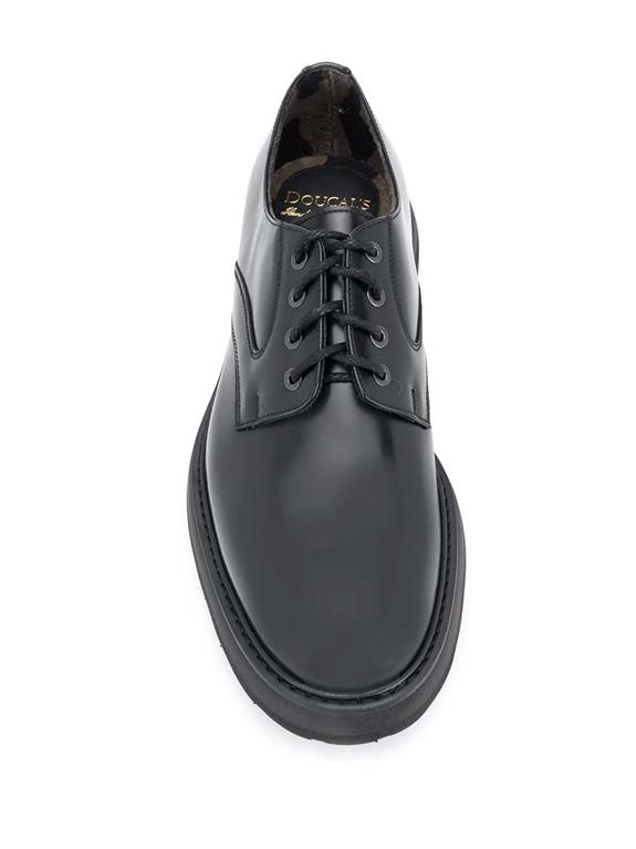 Doucal's - Scarpe - Sneakers - derby stringata nera 1