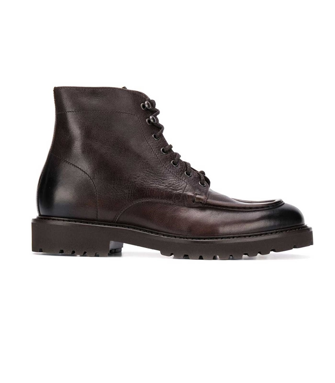 Doucal's - Scarpe - Sneakers - stivali stringati testa di moro