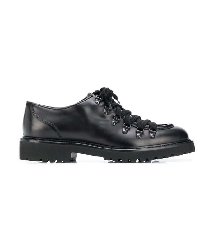 Doucal's - Scarpe - Sneakers - stringata a punta smussata nera
