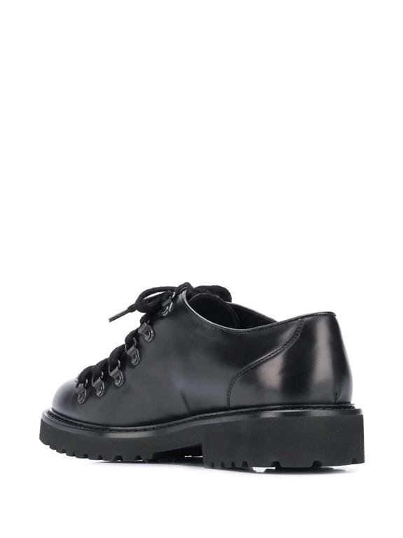 Doucal's - Scarpe - Sneakers - stringata a punta smussata nera 2