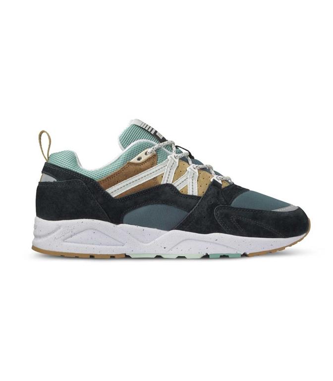 Karhu - Scarpe - Sneakers - fusion 2.0 jet nera/verde acqua