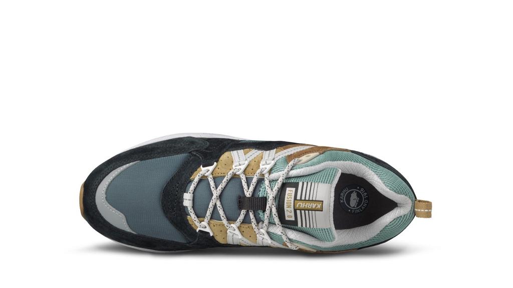 Karhu - Scarpe - Sneakers - fusion 2.0 jet nera/verde acqua 1