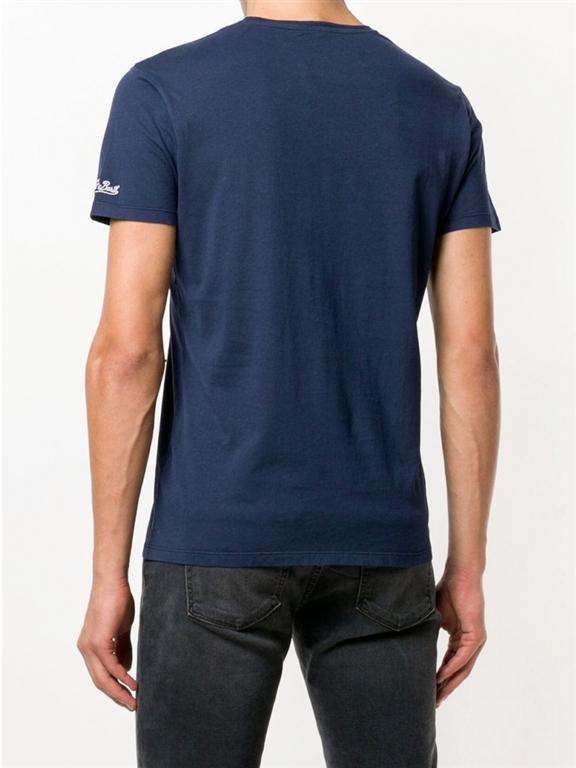 Mc2 Saint Barth - T-Shirt - t-shirt blu champion du champagne 1