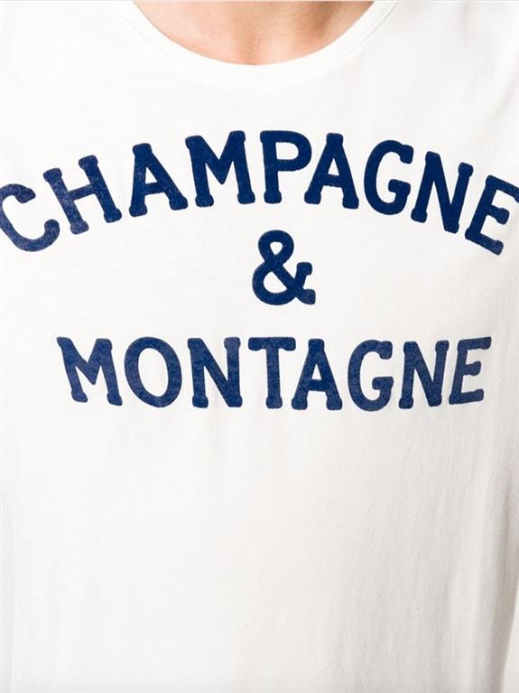 Mc2 Saint Barth - T-Shirt - t-shirt beige champagne & montagne 2