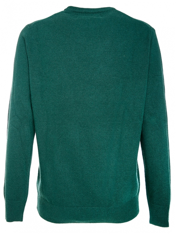 Mc2 Saint Barth - Maglie - maglione verde cash mere only - edizione speciale disney® 1