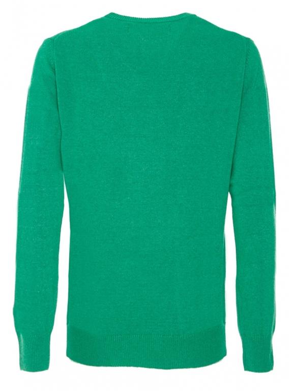Mc2 Saint Barth - Maglie - maglione verde stampa infedele 1
