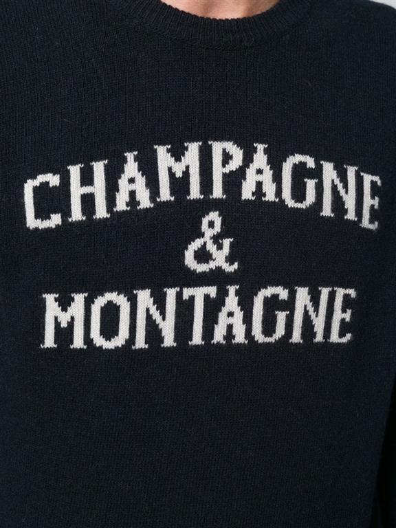 Mc2 Saint Barth - Maglie - maglione uomo champagne & montagne blu 1