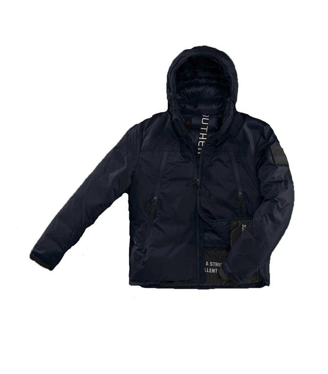Outhere - Giubbotti - GIUBBOTTO RIPSTOP NARCISSUS BLU NAVY