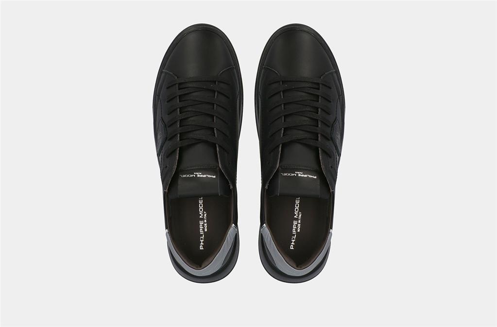 Philippe Model Paris - Scarpe - Sneakers - temple veau nera 1