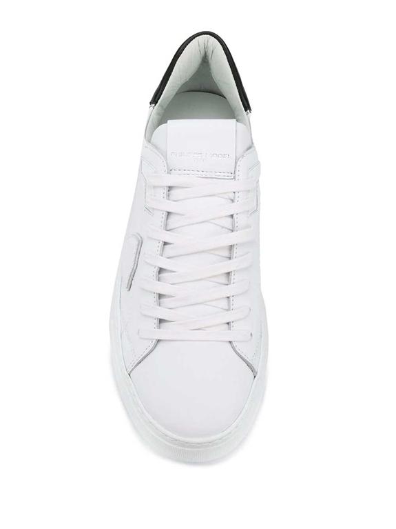 Philippe Model - Scarpe - Sneakers - temple veau bianca 1
