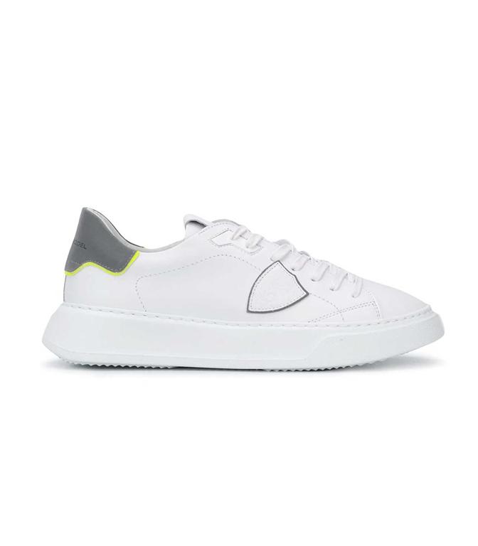 Philippe Model - Scarpe - Sneakers - TEMPLE VEAU REFLEX BIANCA