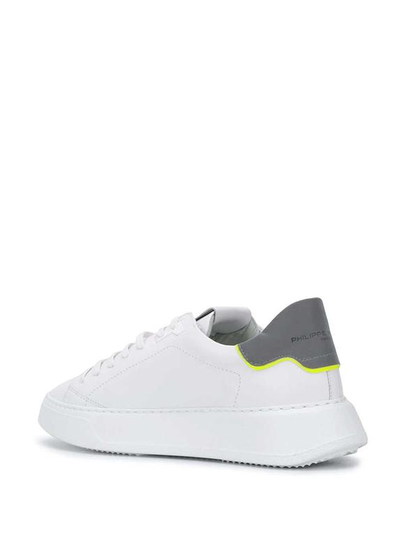 Philippe Model Paris - Scarpe - Sneakers - temple veau reflex bianca 2