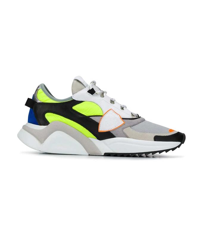 Philippe Model - Scarpe - Sneakers - EZE POP JAUNE GRIS MULTICOLORE