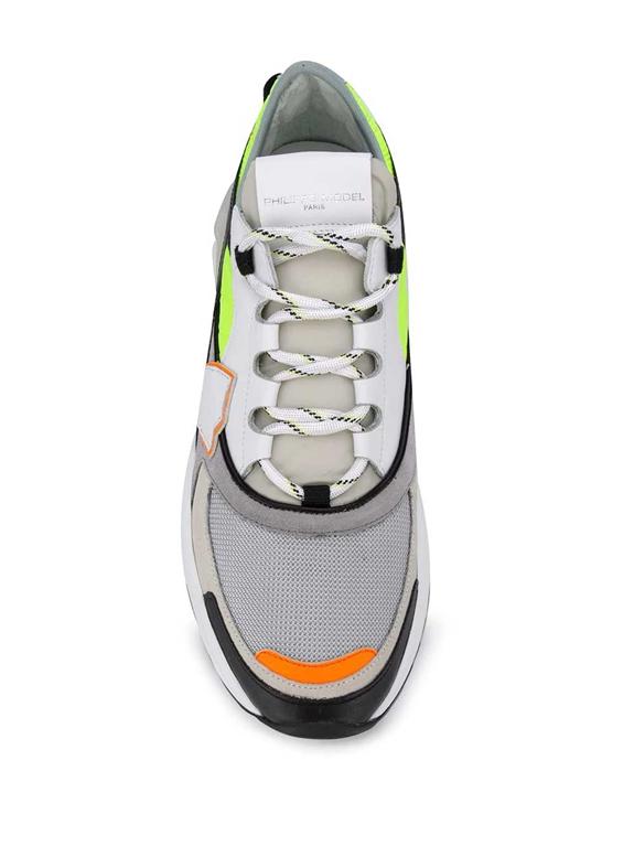 Philippe Model Paris - Scarpe - Sneakers - eze pop jaune gris multicolore 1
