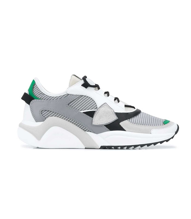 Philippe Model Paris - Scarpe - Sneakers - EZE MONDIAL TECH GRIS VERDE