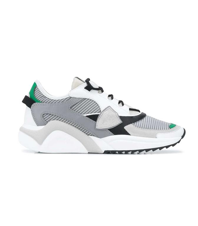 Philippe Model - Scarpe - Sneakers - EZE MONDIAL TECH GRIS VERDE