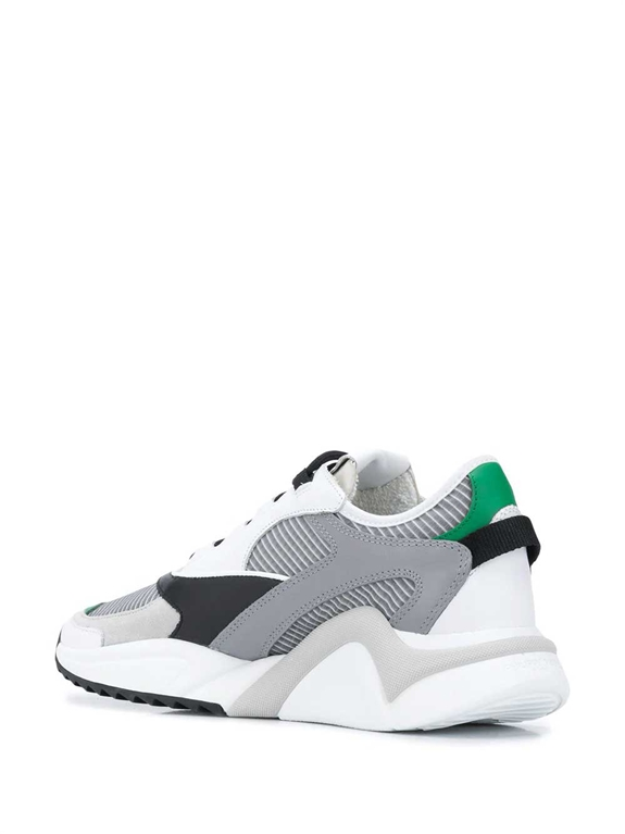 Philippe Model - Scarpe - Sneakers - eze mondial tech gris verde 2