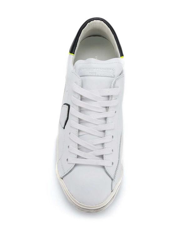 Philippe Model Paris - Scarpe - Sneakers - prsx veau bianca 1