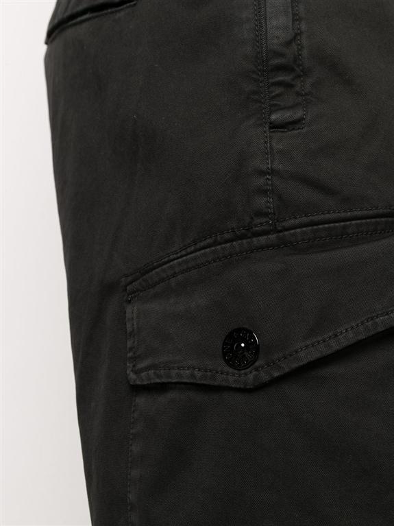 Stone Island - Pantaloni - cargo elasticizzato t.co 'old' nero 1