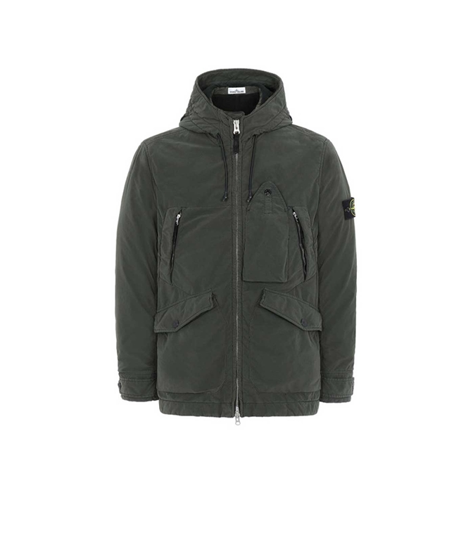 Stone Island - Giubbotti - GIUBBOTTO DAVID LIGHT-TC CON MICROPILE MUSCHIO