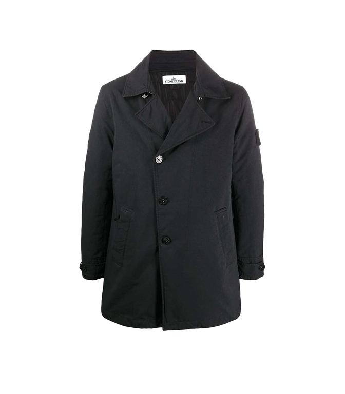 Stone Island - Giaccone - cappotto primaloft nero