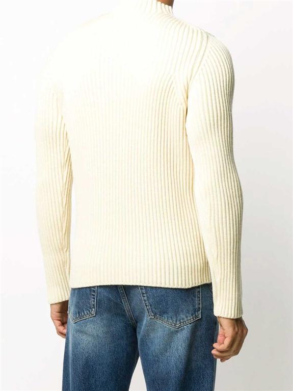 Stone Island - Maglie - maglione collo a imbuto burro 2