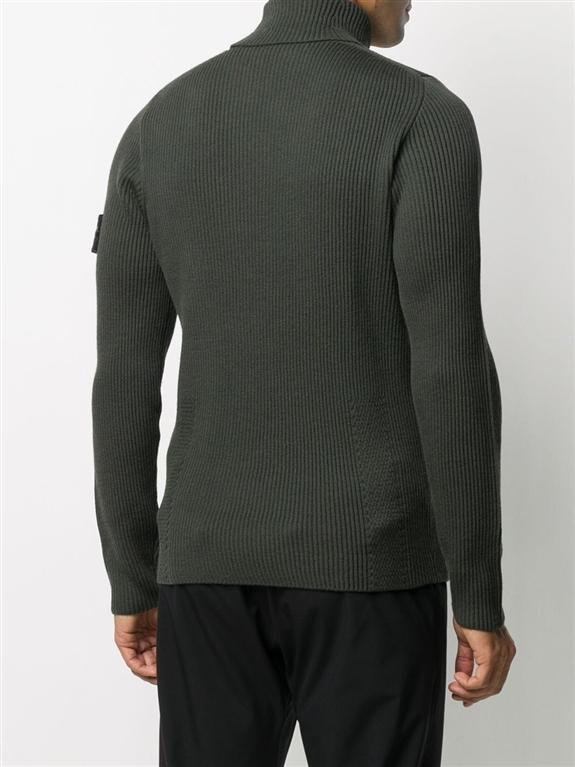 Stone Island - Maglie - maglione collo alto muschio 2