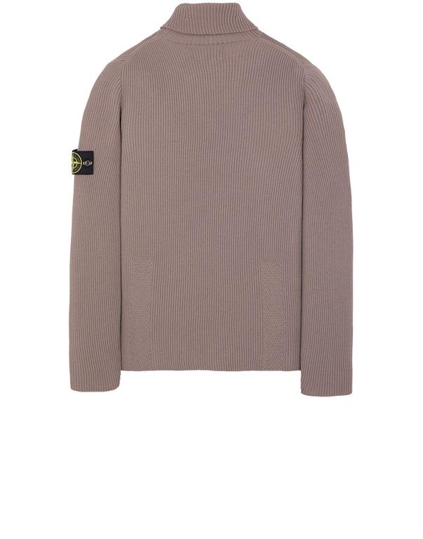 Stone Island - Maglie - maglione collo alto fango 1