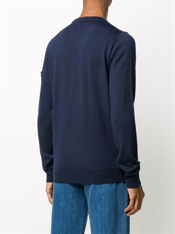 Stone Island - Maglie - maglia girocollo blu 2